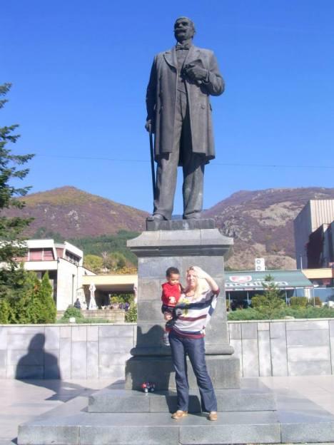 Me and my son Simon Martin