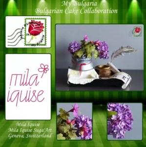 Мила Икизе Mila Iquise Suga'Art Женева, Швейцария Тема: Спомени