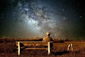 Night sky isolation