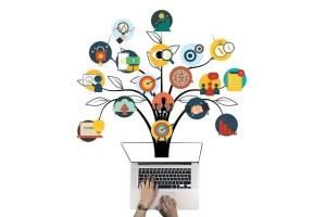 Brand building via social medias