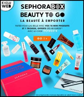 blog beauté sephora box juillet 2015 beauty to go voyage