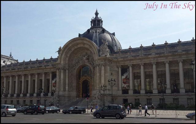 July In The Sky : blog beauté voyage paris métropole été petit palais
