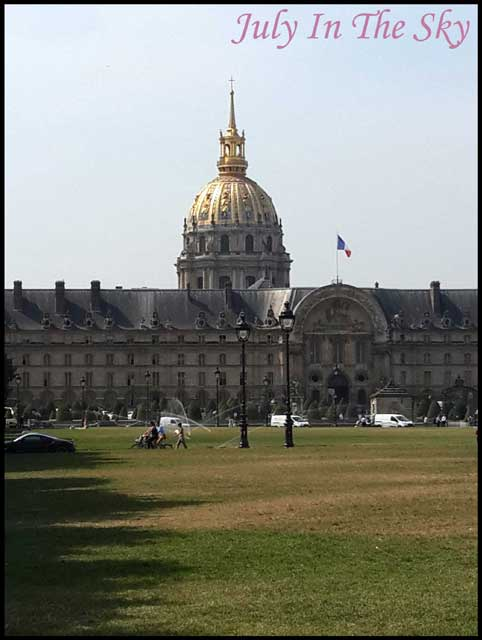 July In The Sky : blog beauté voyage paris métropole été invalides