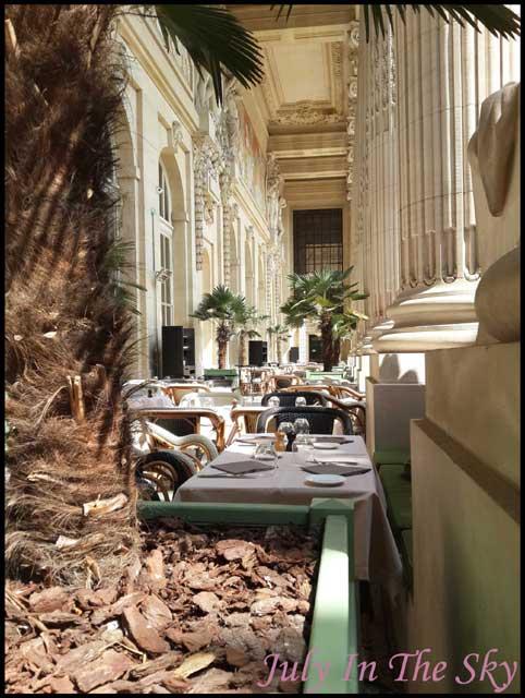 July In The Sky : blog beauté voyage paris métropole été mini palais restaurant