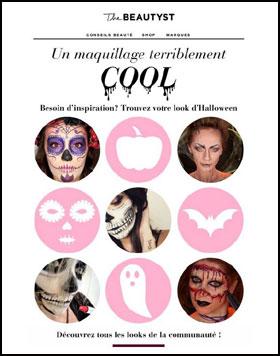 blog beauté sélection une presse subleem hellocoton inspilia focus beauté the beautyst newsletter halloween