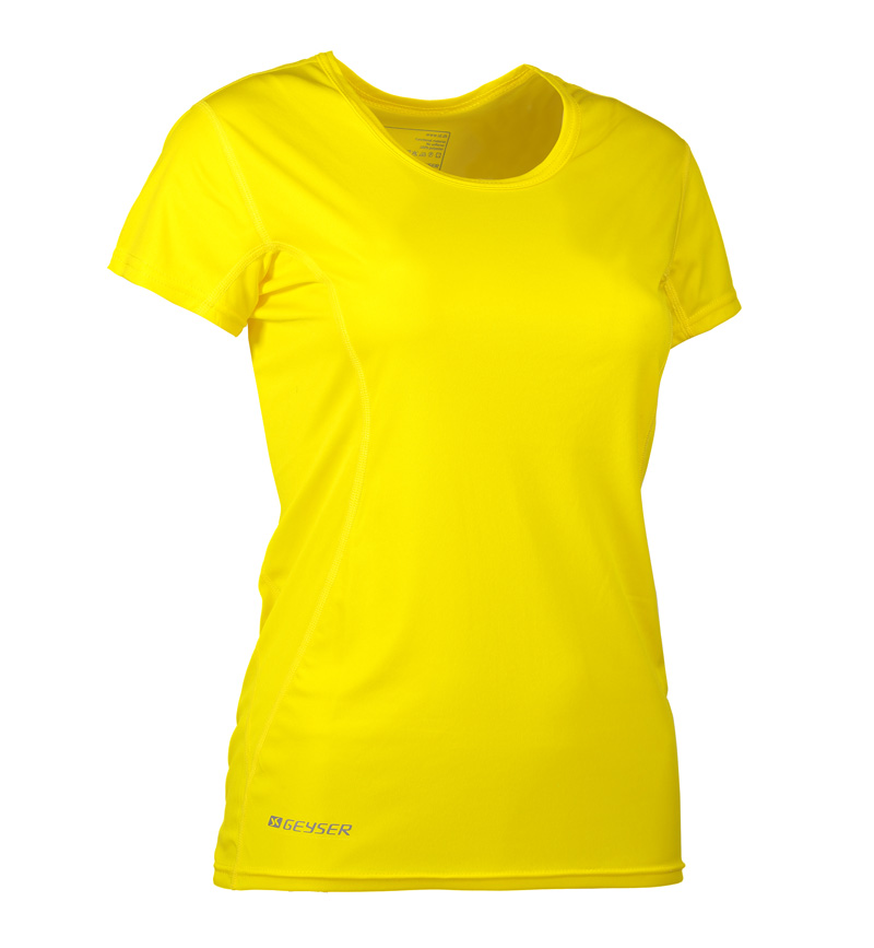 Foto-af-Woman-Active-T-shirt-gul-front1-G11002