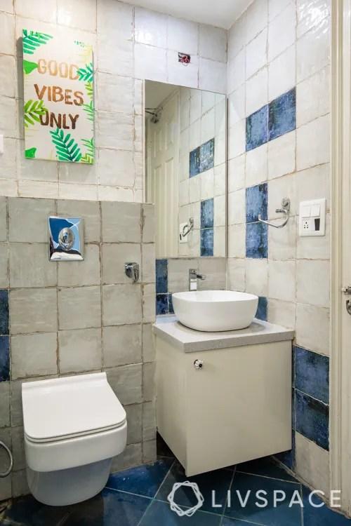 compact bathroom messy bathroom