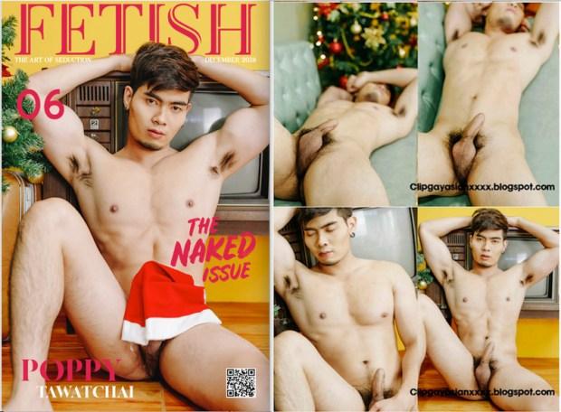FETISH MAGAZINE VOL.06 臺灣特別版 (THE NAKED ISSUE) | SANTA POPPY (รูปภาพ)