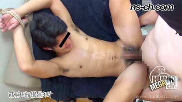 HUNK CHANNEL – NS-585 – 手縄縛りSEX!!(聡君編)