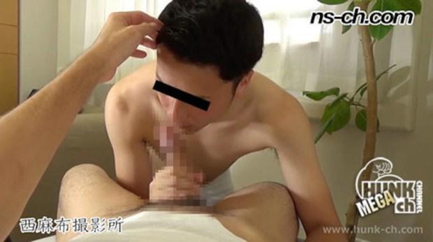 HUNK CHANNEL – NS-599 – ノンケの極上フェラ口内射精!!
