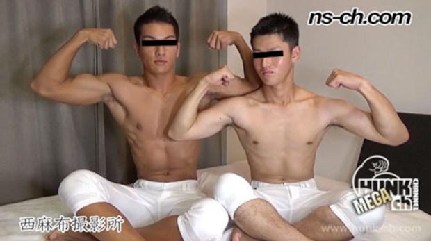HUNK CHANNEL – NS-606 – 先輩が後輩へフェラご奉仕!!(悠人君編)