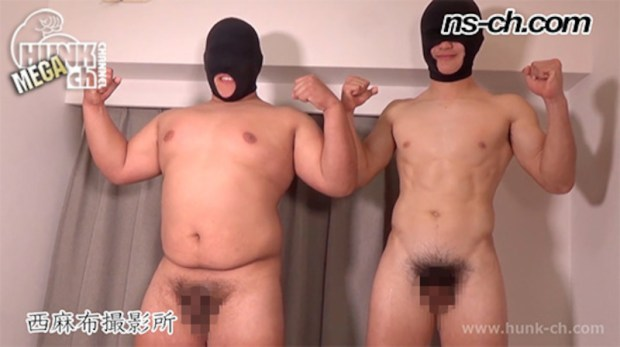 HUNK CHANNEL – NS-760 – 初登場174cm110kg19歳・175cm78kg19歳の男子たち