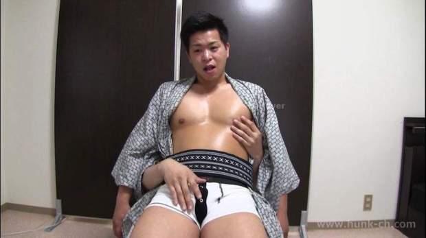 HUNK CHANNEL – GV-OAV419 - 真夏の浴衣祭り!! 浴衣姿のキングくんに魔の手が忍び寄る…男の手で濃厚射精!!