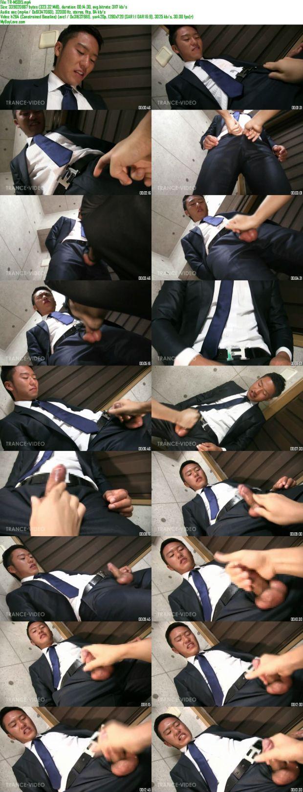 TRANCE VIDEO – TR-MS015 – MEN'S スリムスーツ PART.15
