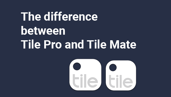 the difference between tile pro and