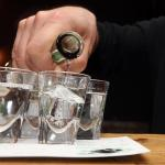 Tequila Shots im Santa Cantina