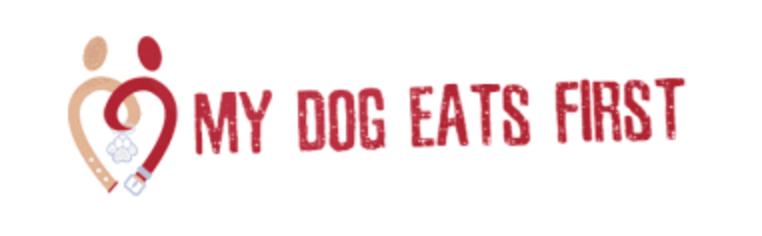 my dog eats first