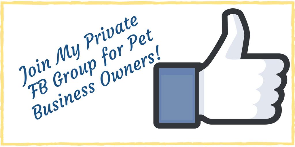 pet sitting facebook group