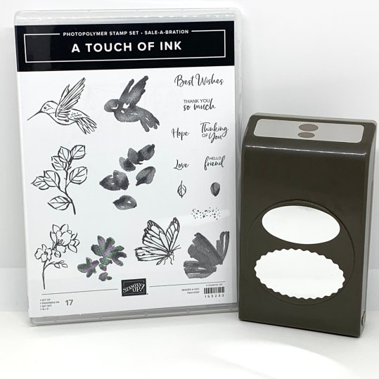 A Touch of Ink & Oval Punch