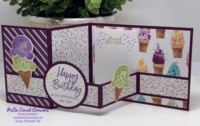 Sweet Ice Cream Card A #1