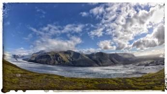 Skaftafellsjökull with Öræfajökull in background