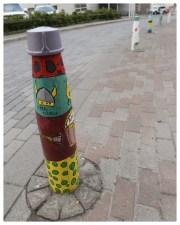 Street post, Isafjördur