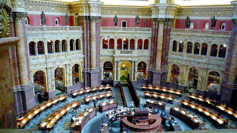 Library of Congress, Washington DC, USA