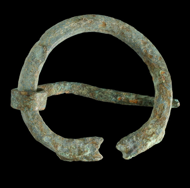 Roman Brooch - Photo by Wessex Archaeology
