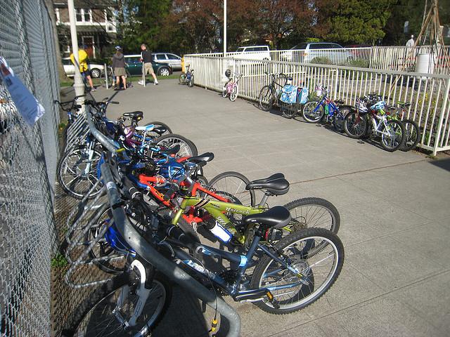 bikes in school