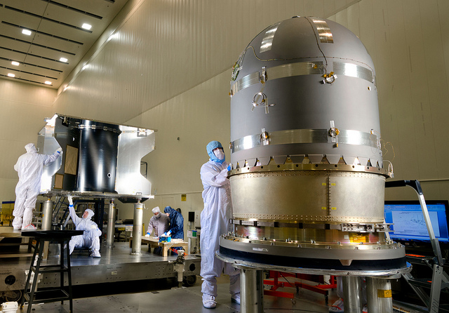 MAVEN Propulsion Tank Installation - NASA
