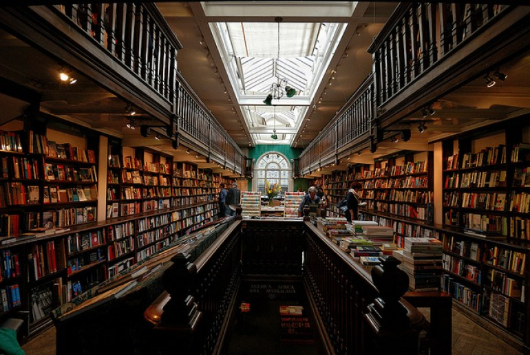 Daunts Bookstore, London