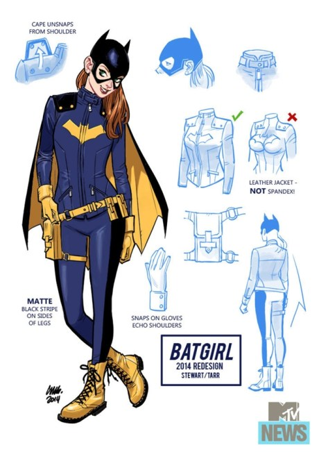 Batgirl by Tarr/Stewart via Marvel Comics