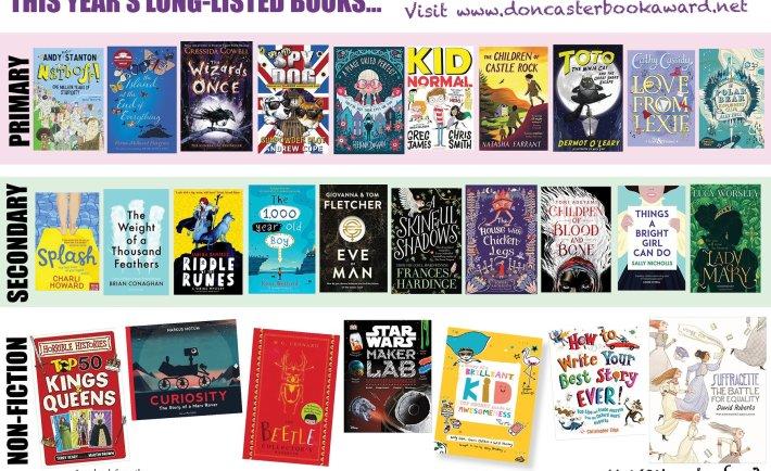 Doncaster Book Awards Shortlist 2018