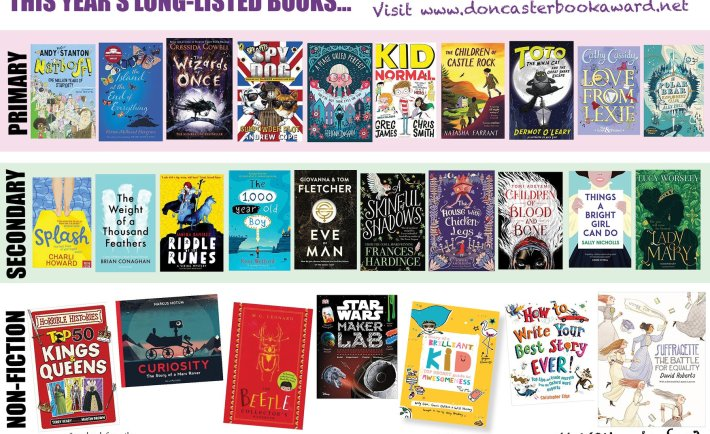 Doncaster Book Awards Shortlist 2018