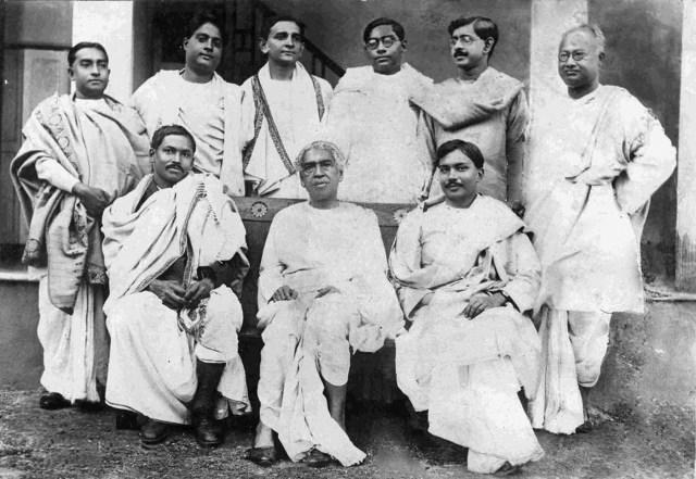 M_N_Saha,_J_C_Bose,_J_C_Ghosh,Snehamoy_Dutt,_S_N_Bose,_D_M_Bose,_N_R_Sen,_J_N_Mukherjee,_N_C_Nag