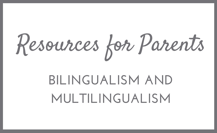 bilingualism resources