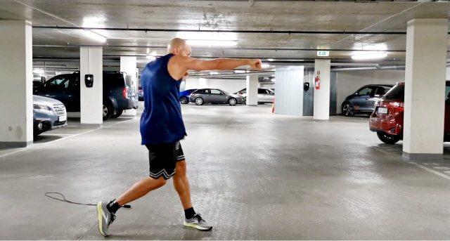 Hoppetauøkt for boksing og annen kampsport