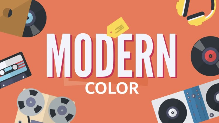 Modern Color Explainer Video