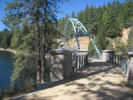 Leaving the bridge behind
