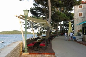 Cafe along the seawall