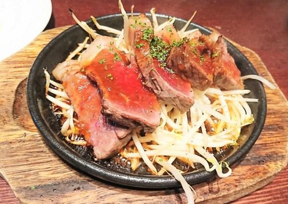 ピエーノ フェスタの赤身肉ステーキ