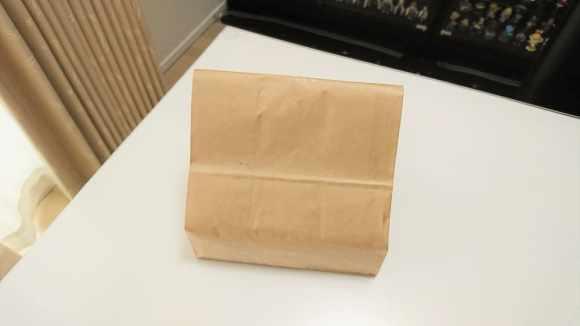 わらび餅の紙袋