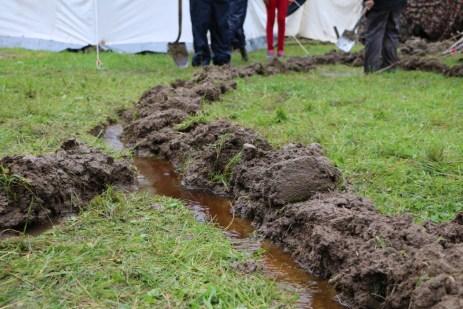Regenwasserabläufe