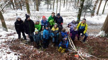 KugelbahnbauerInnen im Zofinger Wald