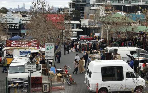 The popular Camberwell Market