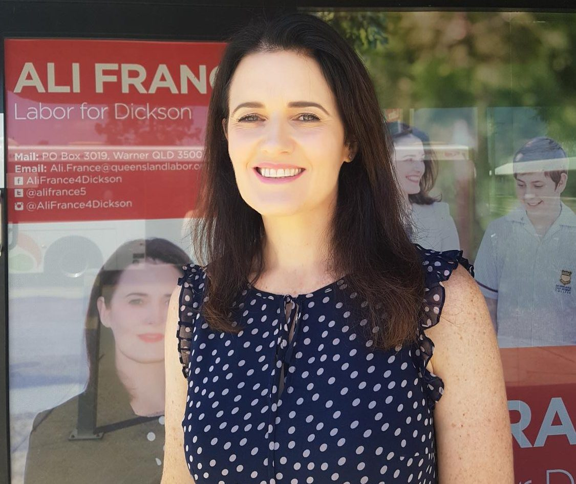 Labor's Ali France needs a swing of 1.7% to beat Peter Dutton in Dickson