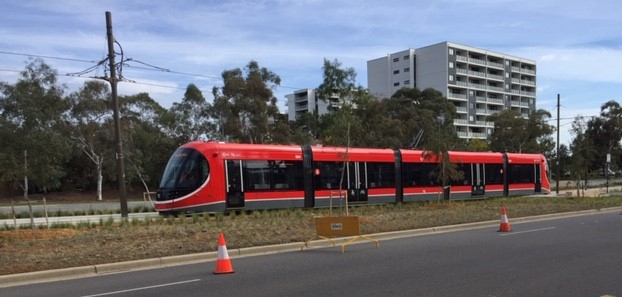 Federal funding for Canberra's light rail has been contentious.