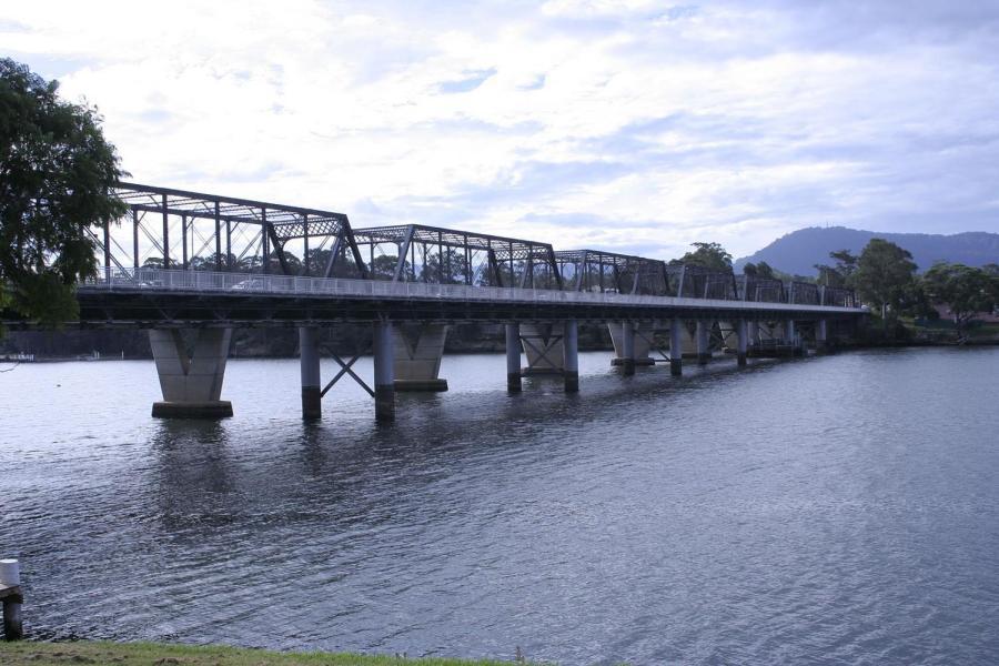 Nowra bridge over Shoalhaven River in Gilmore electorate