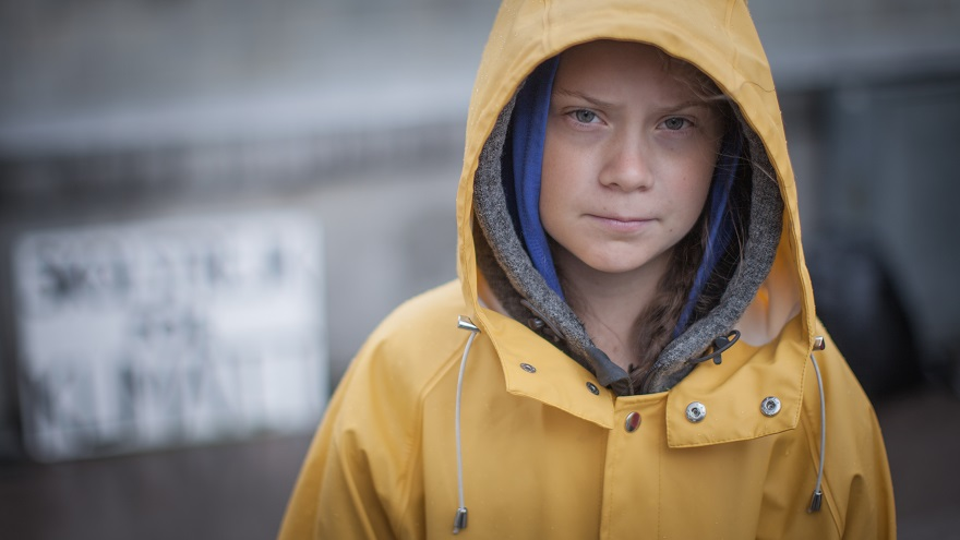 In+August+2018%2C+outside+the+Swedish+parliament+building%2C+Greta+Thunberg+started+a+school+strike+for+the+climate.+Photo+CC+BY+SA+%28c%29+Anders+Hellberg+