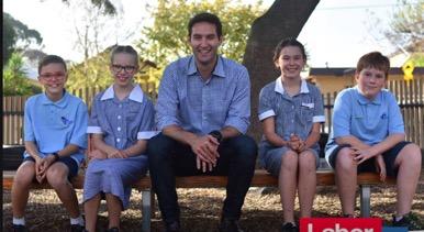 Labor candidate for Macnamara, Josh Burns.
